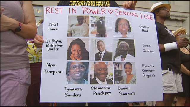 DC vigil for Charleston